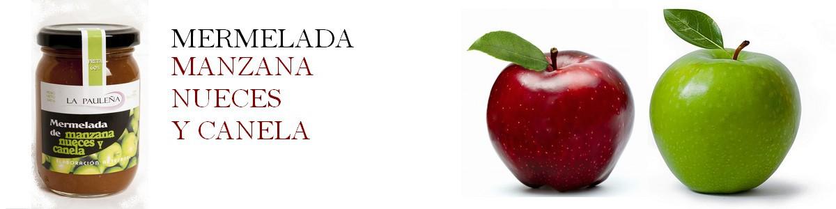 Mermelada de Manzana. nueces y canela - Sabor Granada