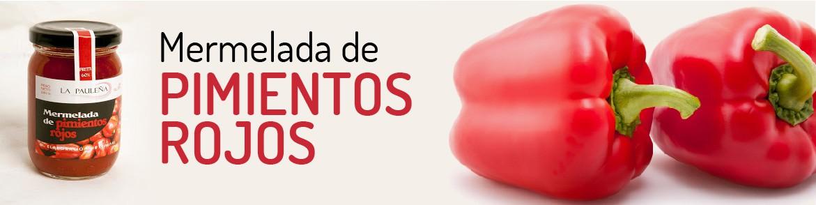 Mermelada de pimientos rojos - Sabor Granada