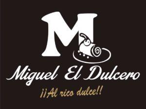 diseño logo al rico dulce de Miguel el Dulcero - Sabor Granada
