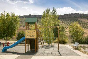 Parque en la Almazara Campopineda - Sabor Granada
