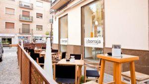 La Borraja terraza exterior - Sabor Granada