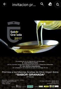 Premios Aceite 2017 - Sabor Granada