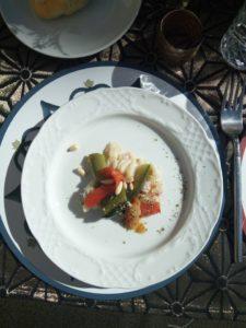 Otro plato elaborado en Masterchef en Granada - Sabor Granada