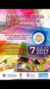 Feria Gastronomía y Enológica de Valle de Zalabi - Sabor Granada