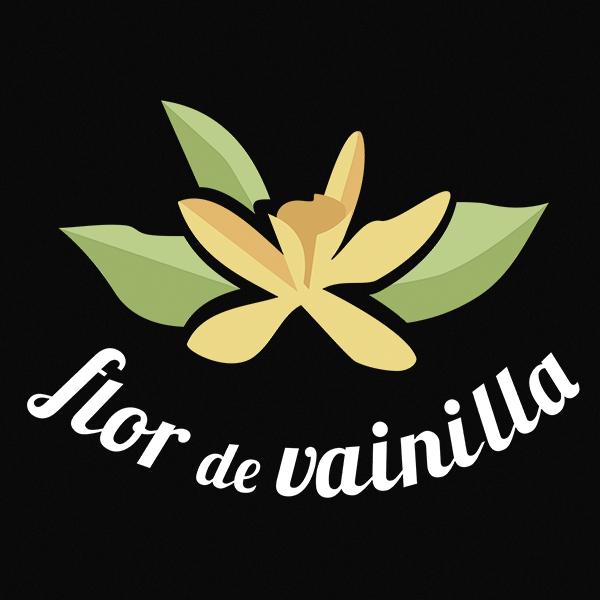 logo Flor de Vainilla - Sabor Granada