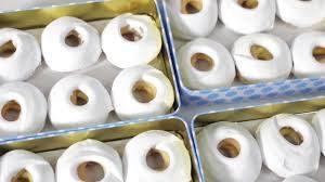 Caja de roscos de loja abierta de Repostería lojeña - Sabor Granada