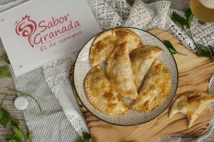 Receta para hacer empanadillas de gambas - Sabor Granada