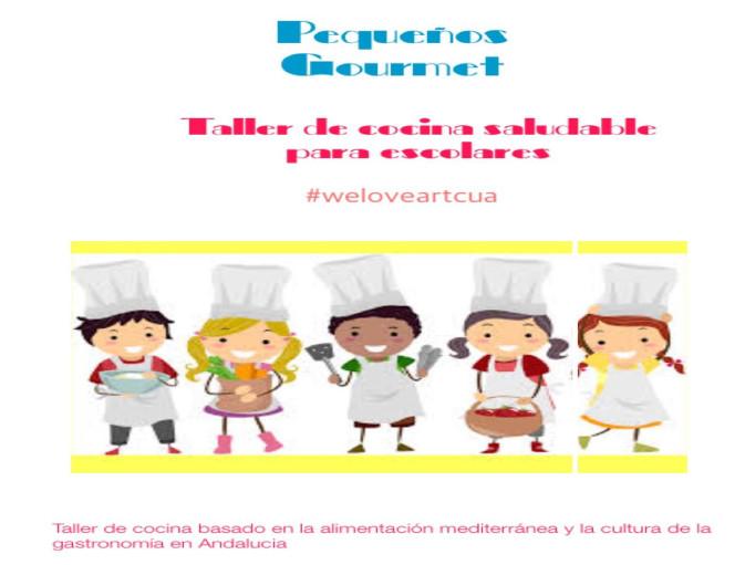 """ARTCUA celebrará su primer Taller de cocina saludable """"Pequeños Gourmets"""" con escolares"""