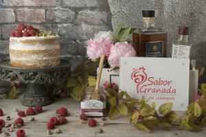 Receta para hacer tarta Embrujo de Granada - Sabor Granada