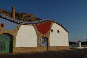 Exterior de las bodegas Pago de Almaraes - Sabor Granada