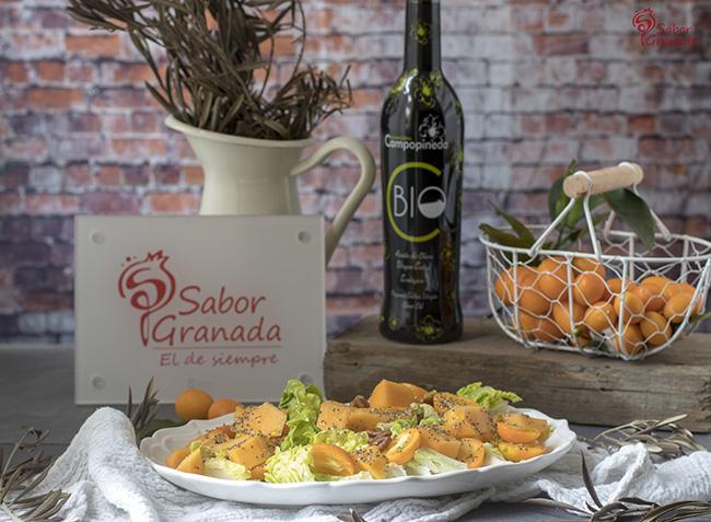 Receta para hacer ensalada de kumquat y papaya -Sabor Granada