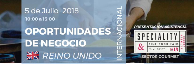 Jornada Empresarial Internacional: Oportunidades de Negocio en Reino Unido