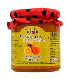 Mermelada de naranja Al-andalus delicatessen - Sabor Granada