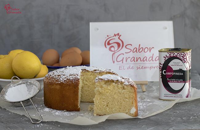 Receta para hacer bizcocho de AOVE - Sabor Granada