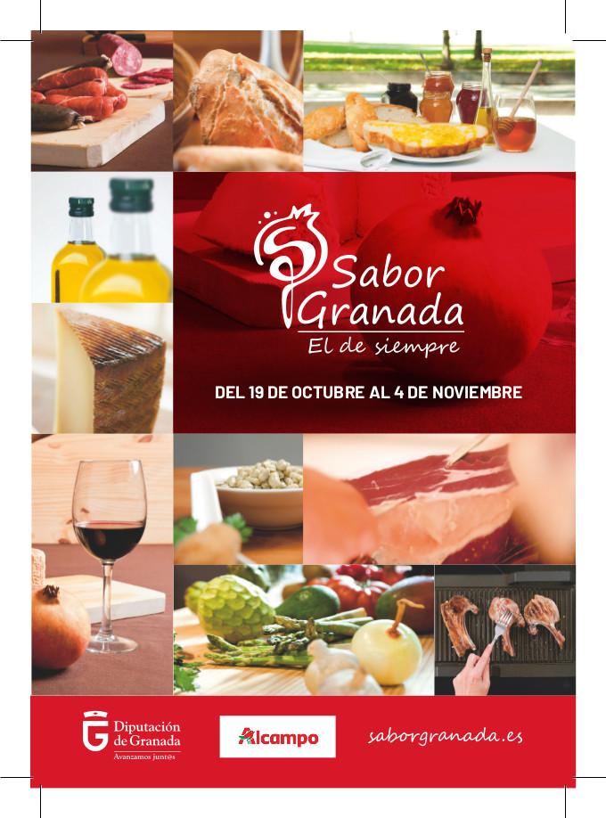 Alcampo de nuevo promociona Sabor Granada