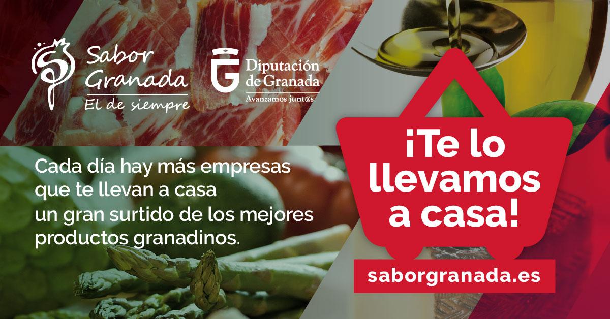 Sabor Granada te lo lleva a casa - Sabor Granada