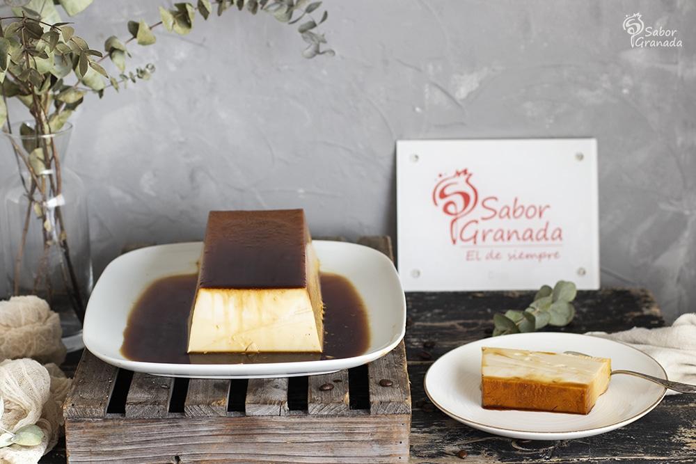 Receta de Flan de ron café - Sabor Granada