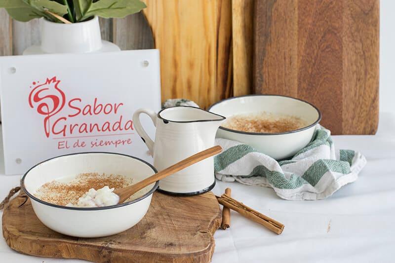 Receta para hacer arroz con leche - Sabor Granada