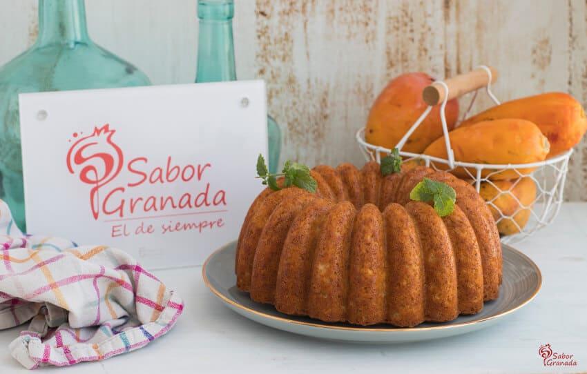 Receta de bizcocho de mango - Sabor Granada