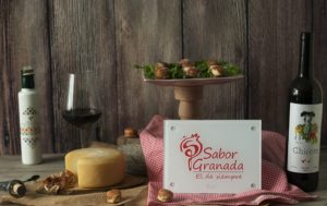 Bombones de jamón rellenos de paté de queso y aceite - Sabor Granada
