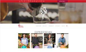 Cabecera de la nueva web de Sabor Granada