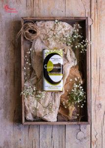 Aceite Campopineda para la elaboración de flan de salmorejo - Sabor Granada