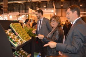 La diputada Ana Muñoz en Fruit Attraction - Sabor Granada