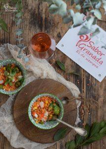 Recetas con lentejas: Ensalada de lentejas - Sabor Granada