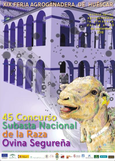 XIX Feria Agroganadera y 45º Concurso Subasta Nacional de la Raza Ovina Segureña de Huéscar