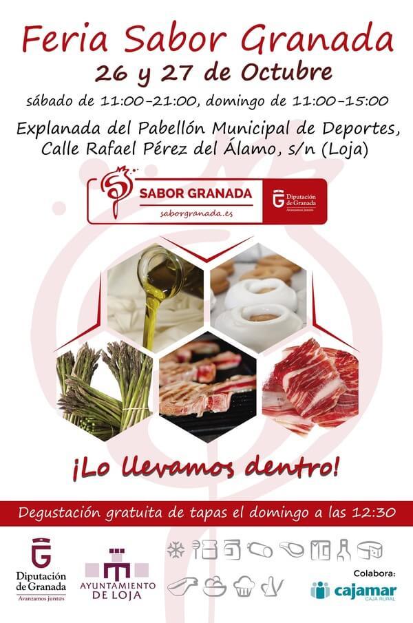 El Mercado de Loja, el 26 y 27 de octubre, abre convocatoria a empresas de Sabor Granada