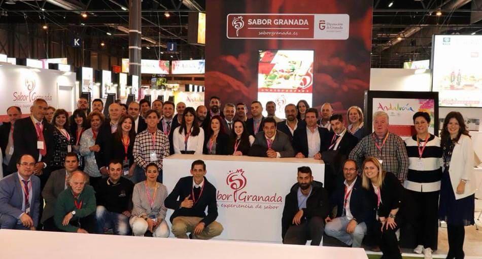 Foto de familia Salón Gourmet 2019 - Sabor Granada