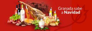 Cartel Granada sabe a Navidad - Sabor Granada