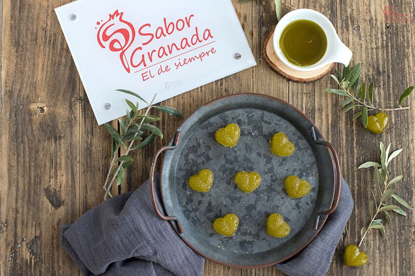 Receta de gominolas de AOVE - Sabor Granada