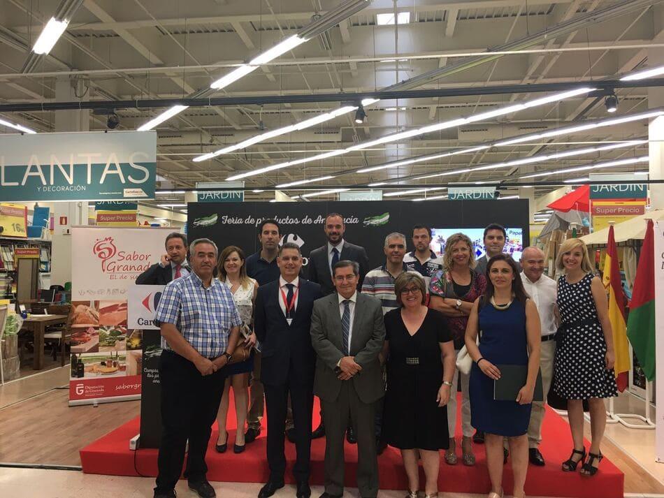 Promoción Sabor Granada en Carrefour en 2017 - Sabor Granada