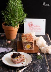 Receta de pastel de carne recién elaborado - Sabor Granada