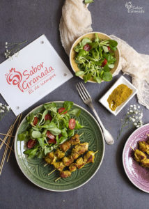 Pinchitos de pollo - Sabor Granada