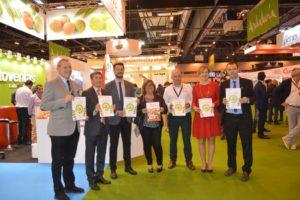Presentación del catálogo de cooperativas en Fruit Attraction - Sabor Granada