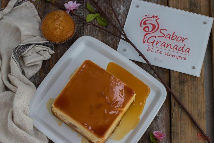 Receta de pudin con magdalenas - Sabor Granada