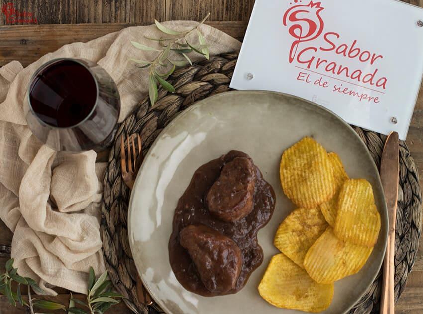 Receta de solomillo al vino semidulce - Sabor Granada