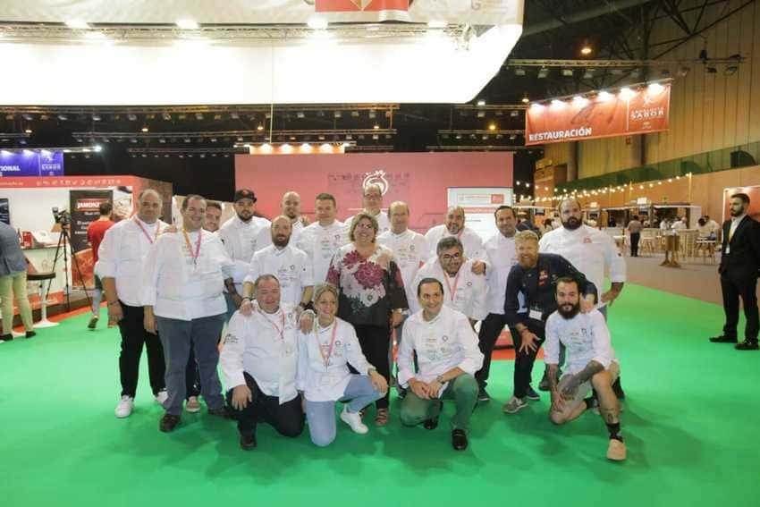 Participantes del stand de Sabor Granada en Andalucía Sabor