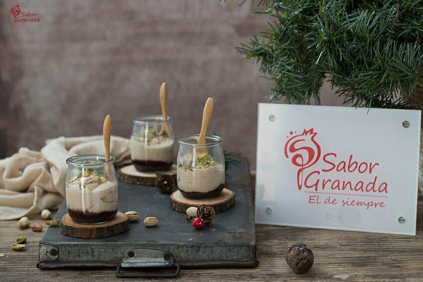 Receta de Yogur de foie con pistachos - Sabor Granada