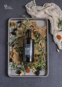 AOVE Inena para la elaboración de las berenjenas rellenas de carne de cordero y frutos secos - Sabor Granada