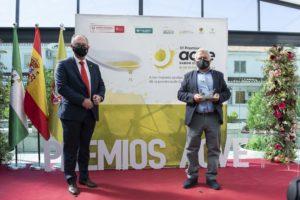 Uno de los ganadores de los Premios AOVE Sabor Granada 2020 recoge el galardón