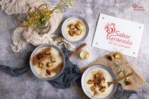 Cómo hacer gachas dulces de Todos los Santos - Sabor Granada