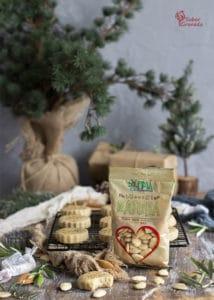 Almendras crudas de Eyma para hacer polvorones de almendra y AOVE - Sabor Granada