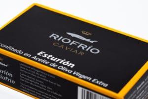 Caviar de Ríofrío confitado - Sabor Granada