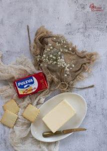 Mantequilla Puleva para hacer las galletas de mantequilla - Sabor Granada