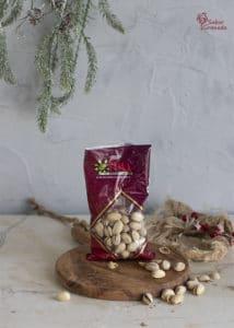 Pistachos Eyma para hacer un carré de cordero - Sabor Granada
