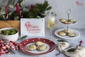 Receta de zamburiñas rellenas - Sabor Granada