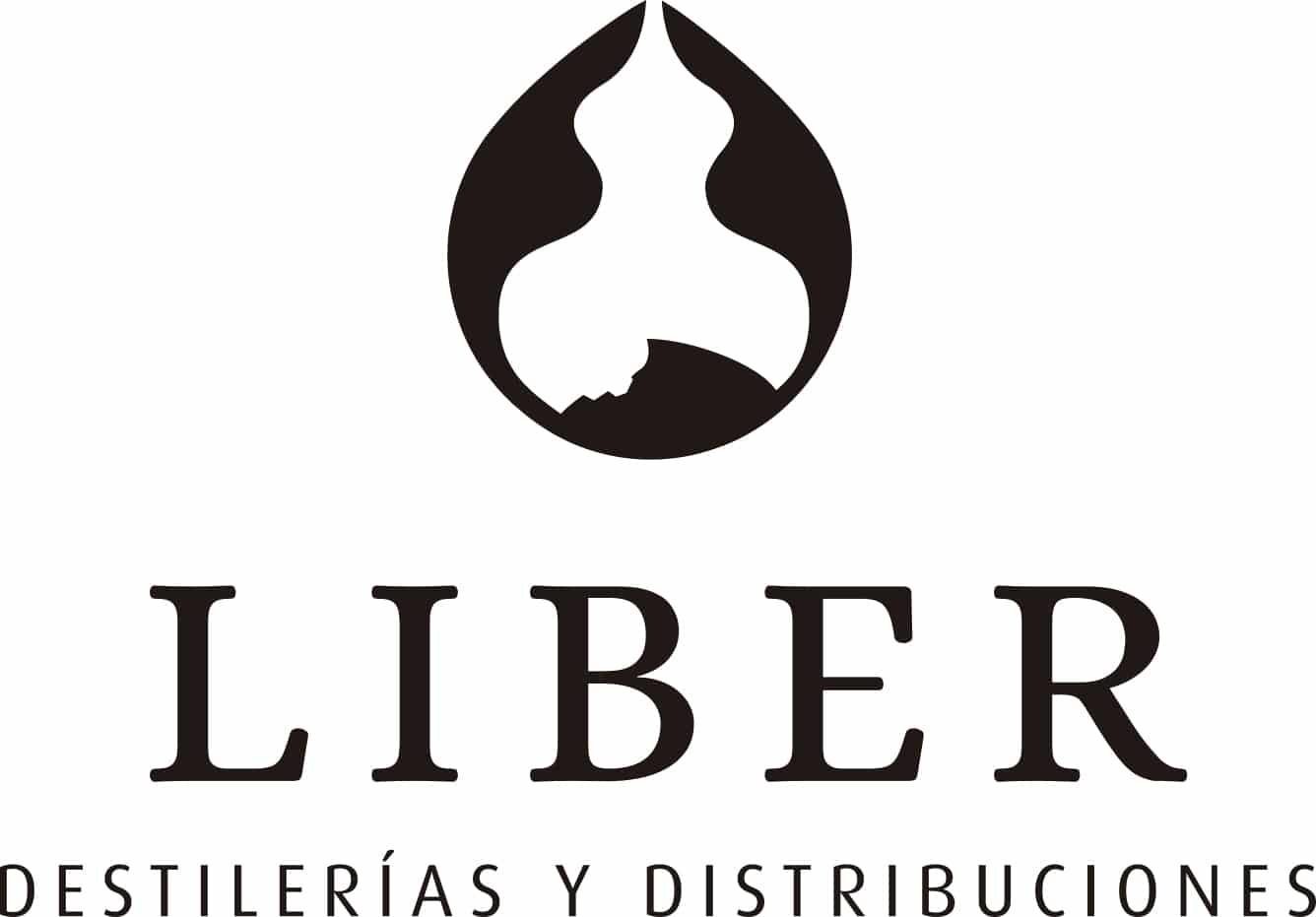 Logo Liber en blanco y negro - Sabor Granada
